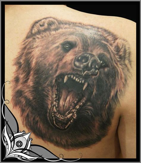 back tattoo bear bear tattoos and designs page 5