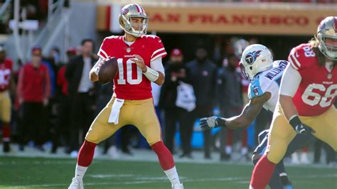 san francisco 49ers c 12 jimmy time garoppolo leads 49ers to third win