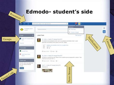 edmodo student tutorial video image gallery edmodo backpack