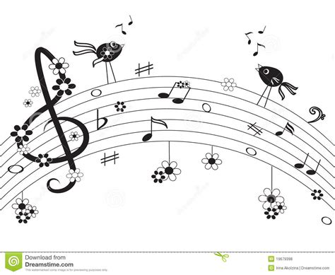 music notes royalty free stock photos image 19679398