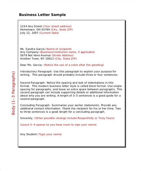 Business Letter Writing Protocol 72 unique exle of a business letter requesting