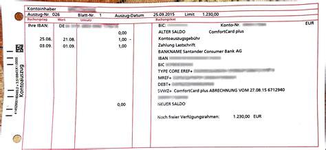 santander bank kredit erfahrung kontoauszugsgeb 252 hr santander bank auch weiter nachdem