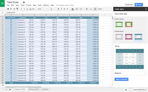 Change Table Style Excel by How To Change Table Style In Excel How To Change Excel