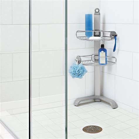 bathroom caddy ideas bathroom simple design free standing shower caddy for your bathroom accessories tenchicha