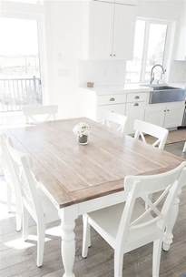 white kitchen tables 25 best ideas about white dining table on pinterest white dining room table white round
