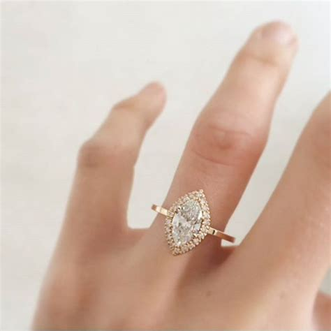 real looking rings wedding promise