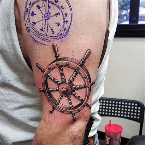 nautical tattoo ideas for men 100 nautical tattoos for slick seafaring design ideas