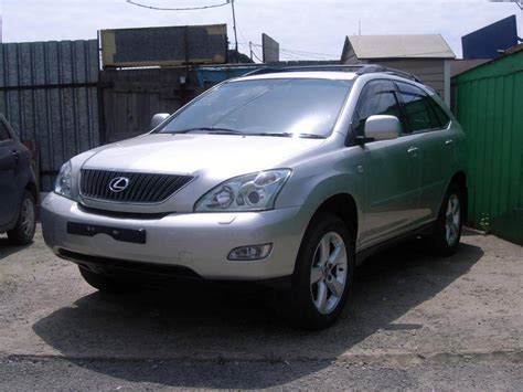 2005 Toyota Harrier For Sale 3300cc Gasoline Automatic