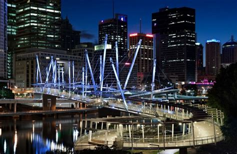kurilpa bridge kurilpa bridge in brisbane australia by cox rayner