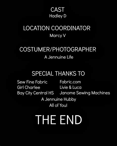 Movie Poster Credits Template Playbestonlinegames Closing Credits Template