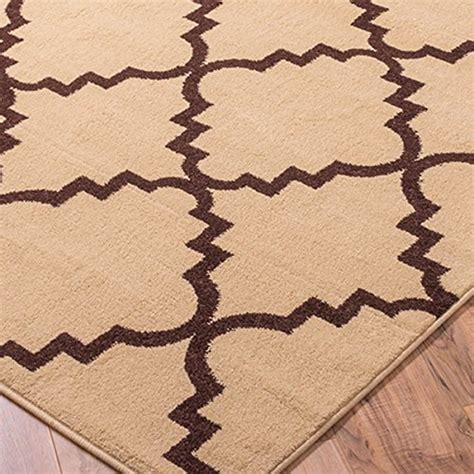 2 X 4 Kitchen Rug Ivory Shade 3x4 2 7 Quot X 4 2 Quot Oval Area Rug Trellis Morrocan Modern Geometric Wavy Lines Area