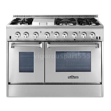 Window Well Grates Kitchen 48 Quot Dual Fuel 6 Burner Stainless Gas Range W
