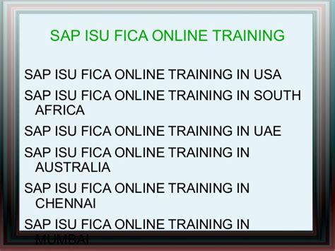 tutorial sap isu sap isu fica online training in dubai