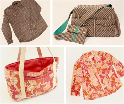 Handmade Bag Tutorial - lusco handmade upcycled shirt to purse free tutorial