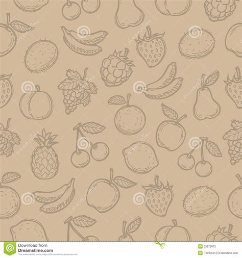 doodle editing pictures pattern doodle fruits stock photography image