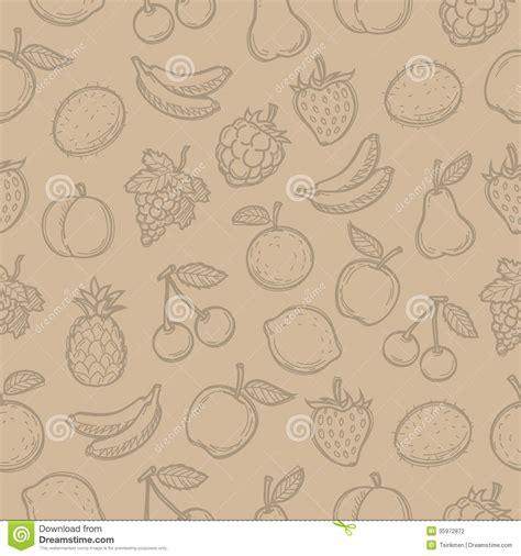 doodle edited pattern doodle fruits stock photography image