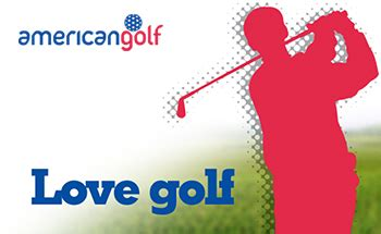 American Golf Gift Card - the shop pytchley golf course kettering