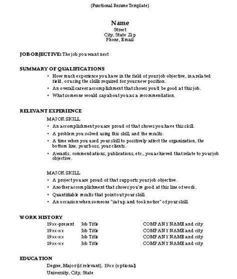 How To Write A Resume For A With Experience how to do a resume resume cv