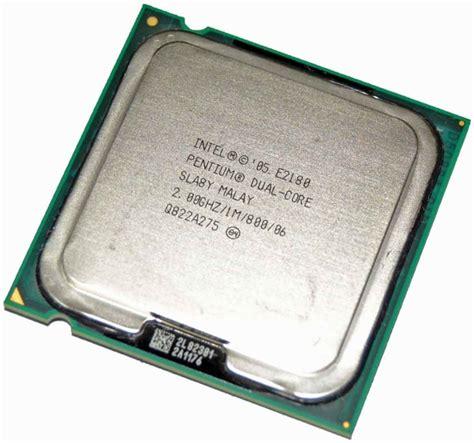 Processor Intel Dualcore 20 Ghz E2180 1m800 intel sla8y 2 00ghz 800mhz 1mb lga775 intel pentium