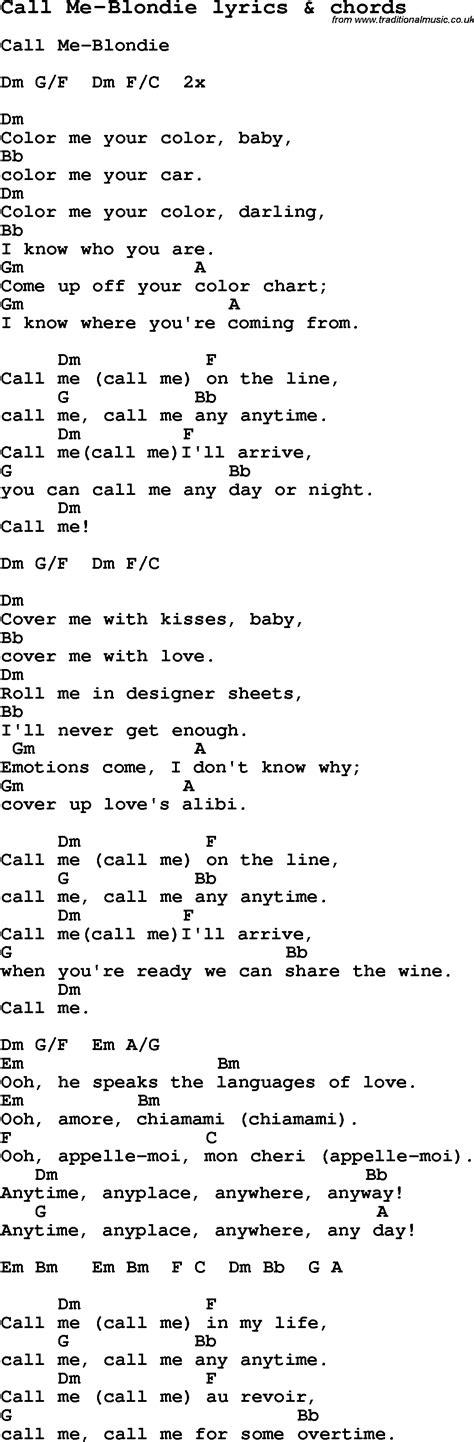 call me a lyrics call me lyrics driverlayer search engine