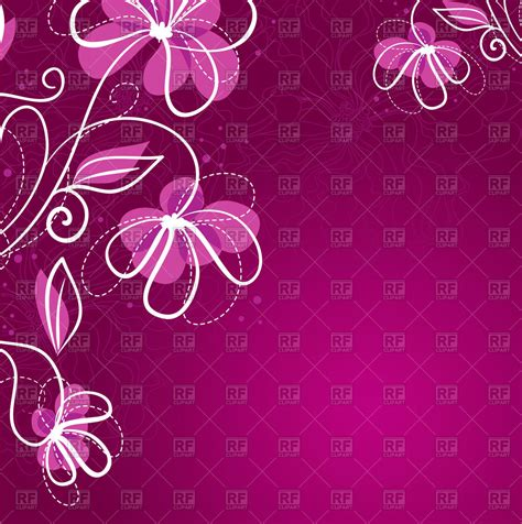 flower wallpaper vector free download simple purple floral background royalty free vector clip