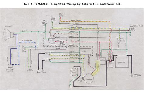 redo electrical wiring 1985 rebel 250 wiring redo electric boogaloo