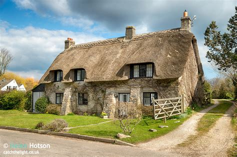 Cottage Corfe Castle by Dorset Thatch Professional Landscape Photography By