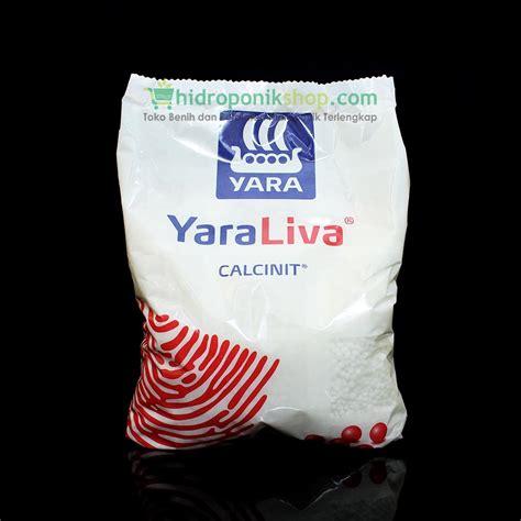 Pupuk Kalsium Yara jual pupuk yaraliva calcinit hidroponik shop