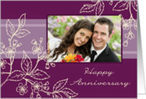 Wedding Card Editing With Photo by Wedding Anniversary Photo Cards From Greeting Card Universe