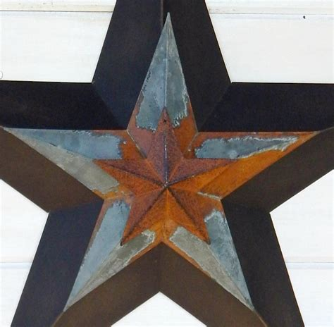 rustic star decorations for home primitve barn star patriotic star rustic wall hanging