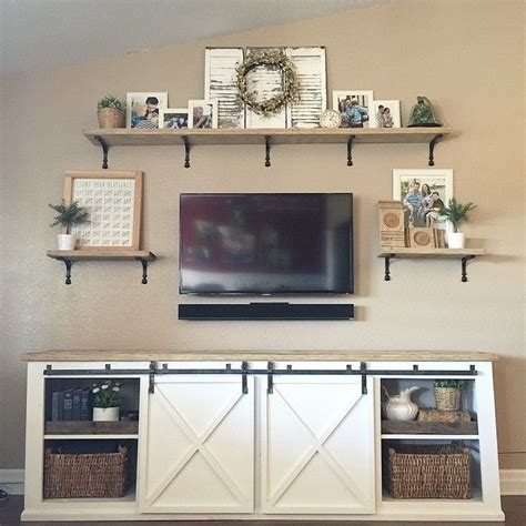 barn door tv stand plans white build a grandy sliding door console free and