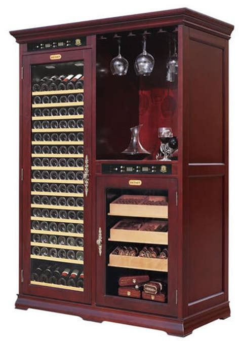 sell vinbro wine cigar combo cabinet furniture giant humidor cabinetid ec