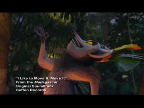 Lemur I Like To Move It Move It by Madagascar I Like To Move It Quiero Mover El Bote
