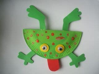 frog craft paper plate create different frog species from paper plates nature
