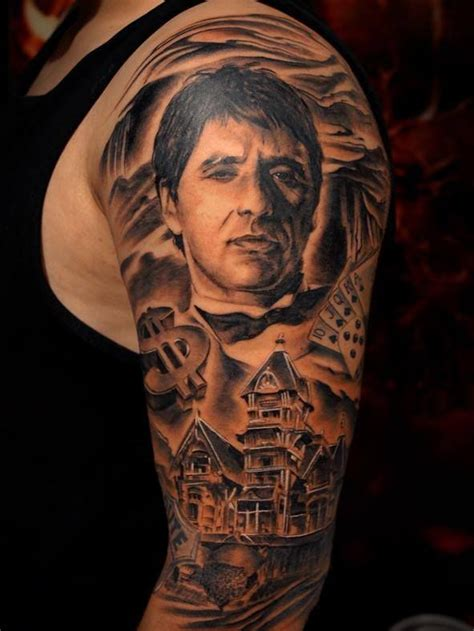 scarface tattoo designs 17 best images about scarface on montana al