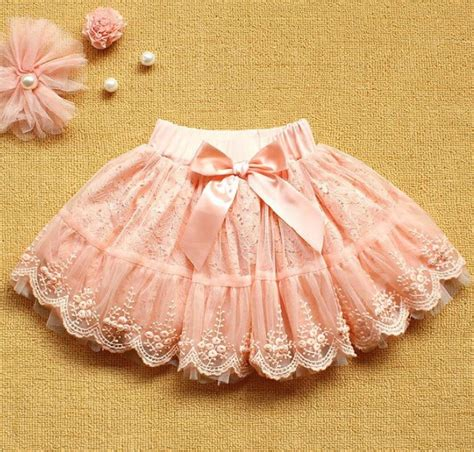 Baby Avail Pink Skirt pink lace skirt tutu skirt for baby tutu skirt tutu skirt tutu skirts with bow and