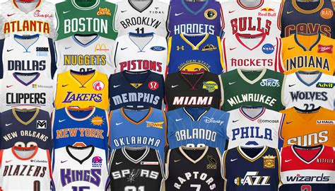 Mba Meaning Basketball by The Ideal Jersey Sponsors For Every Single Nba Team The