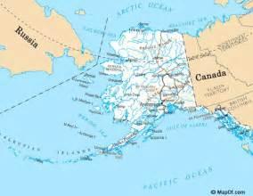 map of alaska and bering sea world map