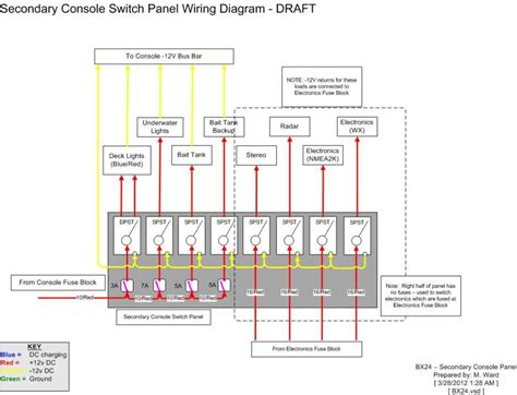 12 volt switch panel wiring diagram wiring diagram with