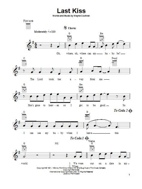 last kiss tutorial guitar last kiss by j frank wilson ukulele guitar instructor