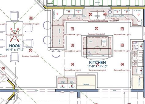 restaurant kitchen plan interior design
