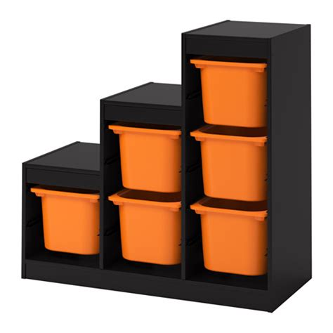 children s storage units combinations ikea trofast storage combination with boxes black orange