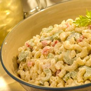 pasta salad recipe mayo classic macaroni salad with light mayonnaise recipe myrecipes