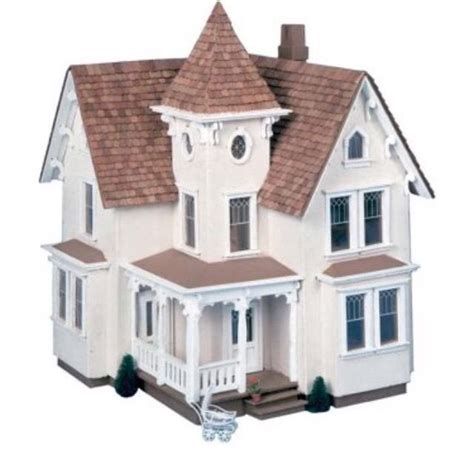 dollhouse for 6 inch dolls doll house kit wooden 1 2 inch scale miniatures
