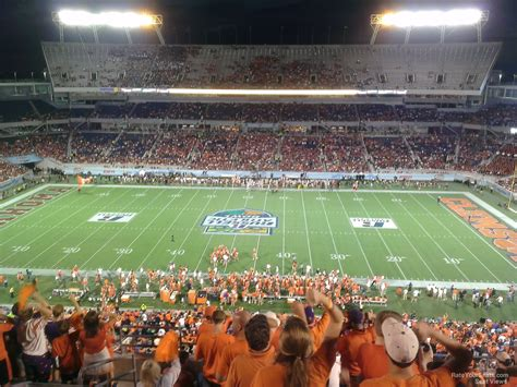 Bowl Section by Florida Citrus Bowl Stadium Section 207 Rateyourseats