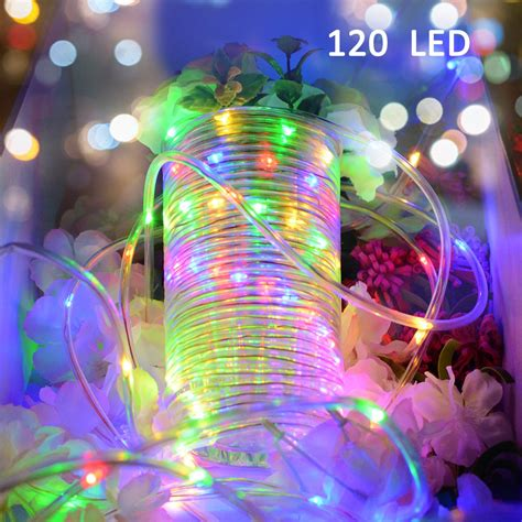 vmanoo rope lights 120 led battery operated string fairy christmas lighting decor timer for outdoor indoor garden patio lawn best in rope lights helpful customer reviews