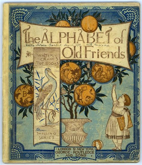 Find Walter alphabet of friends walter crane things i might