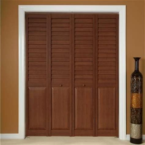 wood classics 3 in louver panel dark teak composite 17 best images about composite bi fold doors on pinterest