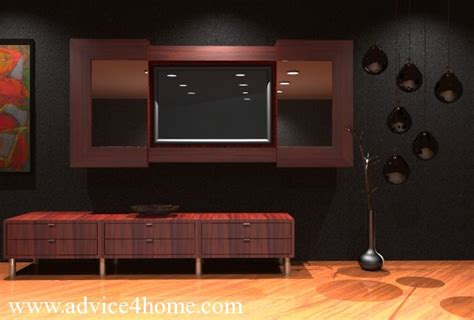 lcd wall design in bedroom gray wall and modern red lcd tv wall design in living room