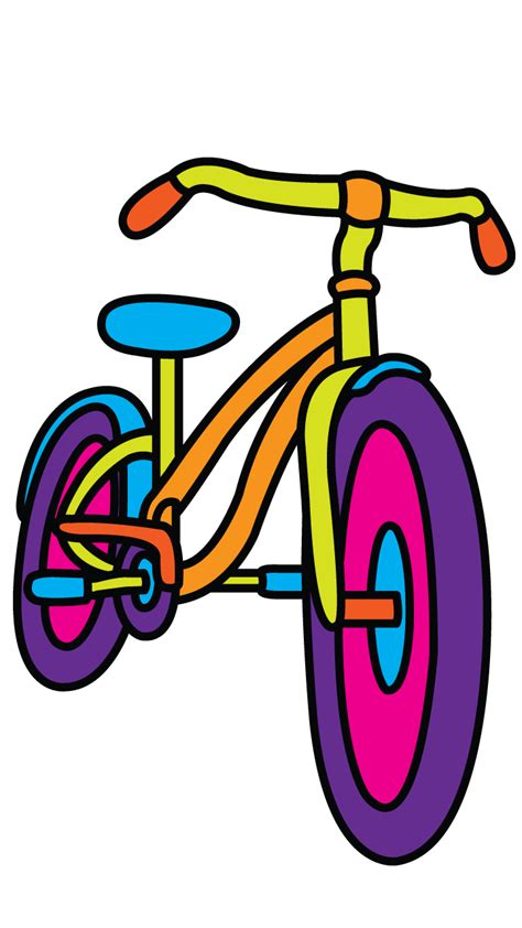 Sepeda Simple Bicycle bicycle drawing tutorial on drawingmanuals and